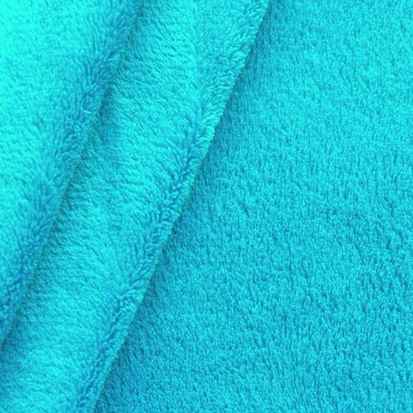 Wellness Fleece Türkis-Blau
