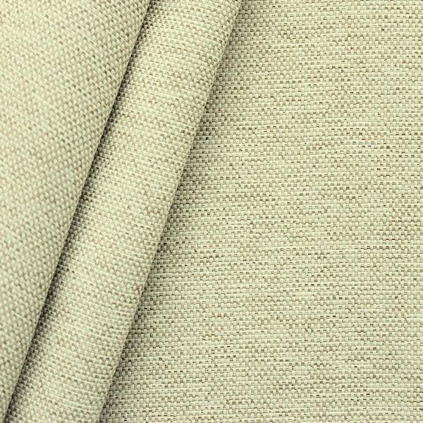 Verdunkelungs- Thermo Vorhangstoff Black Out Artikel Rustica Farbe Creme-Beige melange