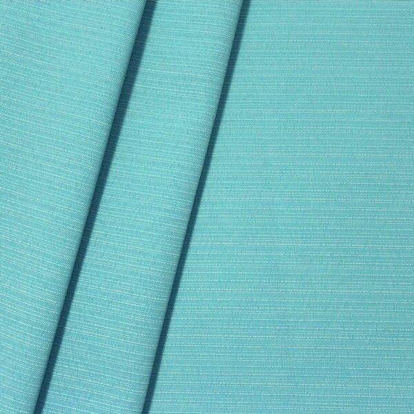 Dekostoff universal Leinen-Optik Türkis-Blau