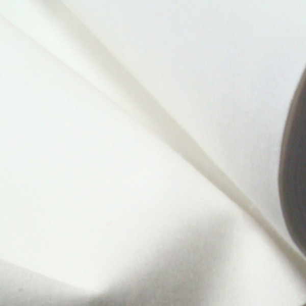 Tisch Molton Meterware wasserdicht Breite 90cm Farbe Weiss