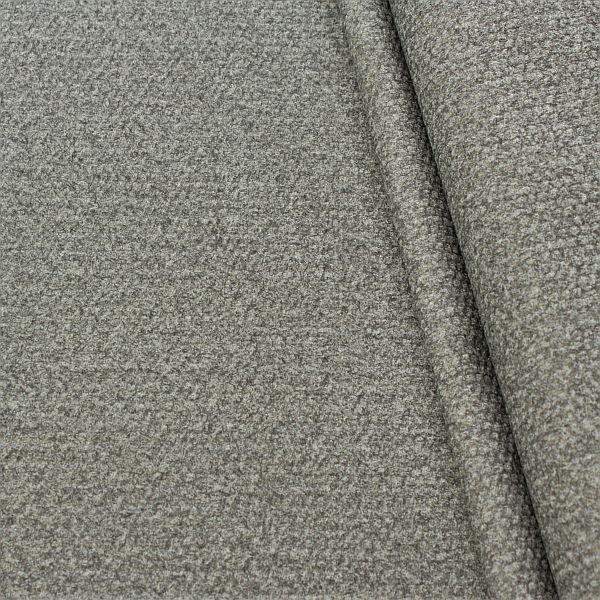 Polsterstoff Möbelstoff Velours Stein-Grau