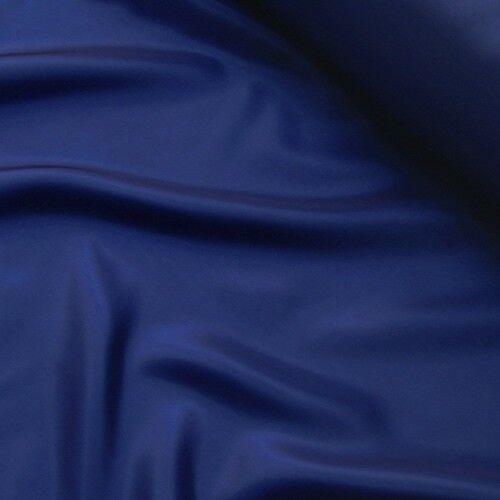 Acetat Taft Futterstoff Farbe Dunkel-Blau