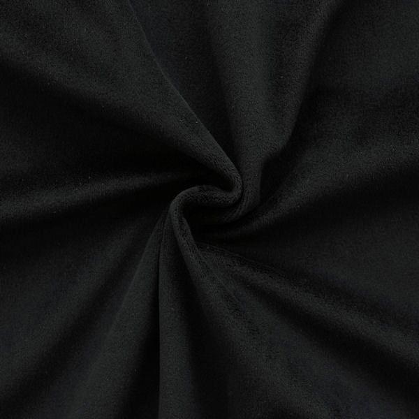 Microfaser Polster- Möbelstoff Artikel Velnesse Farbe Schwarz