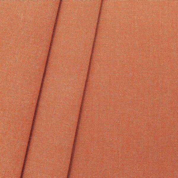 Deko Outdoorstoff Melange Optik Farbe Terrakotta