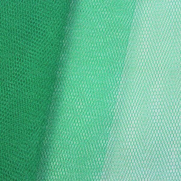 Tüll Stoff Farbe Tannen-Grün