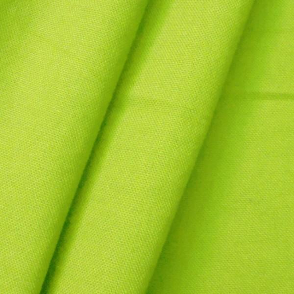 Baumwolle Canvas Lind-Grün