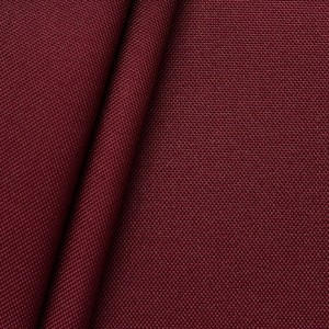 Oxford Polyester Gewebe 600D Farbe Weinrot