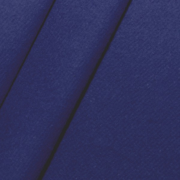 Royalblauer Bühnen-Molton schwer entflammbar nach B1