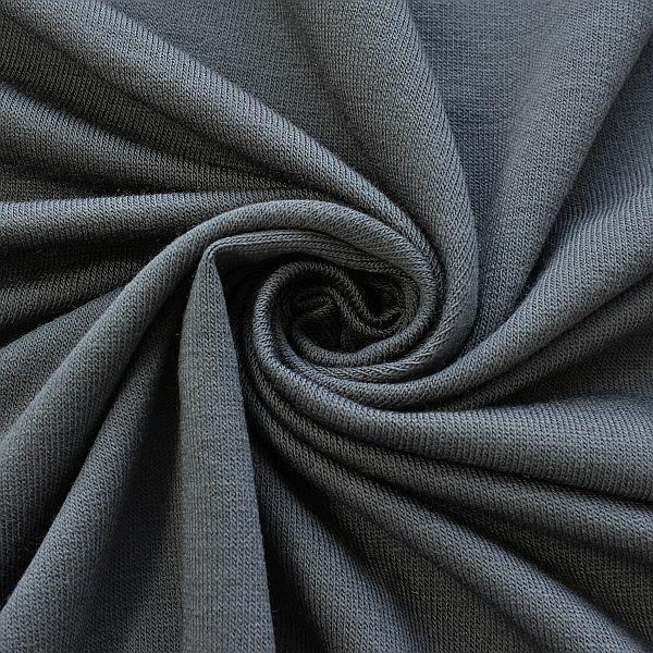Feinstrick Jersey Classic Knitwear Dunkel-Grau