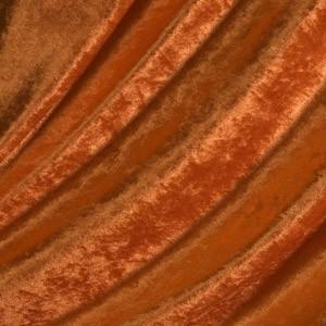 Pannesamt Farbe Orange