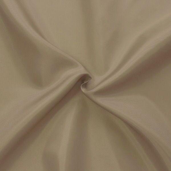 Polyester Taft Futterstoff Farbe Schlamm