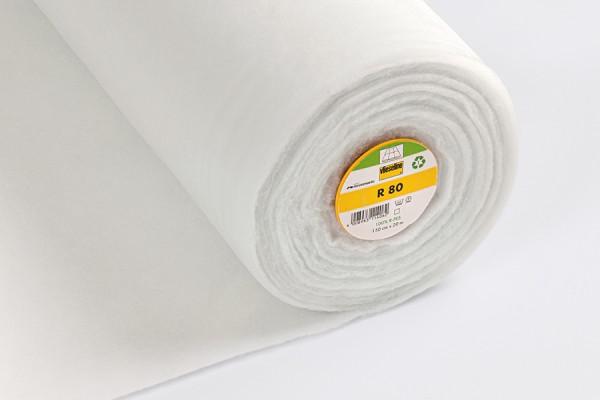 Freudenberg Volumenvlies Typ R 80 zum Einnähen Farbe Weiss