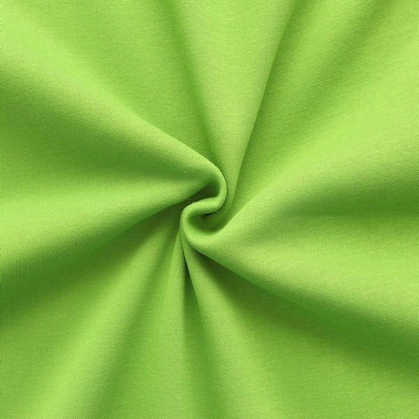 Sweatshirt Baumwollstoff Lind-Grün