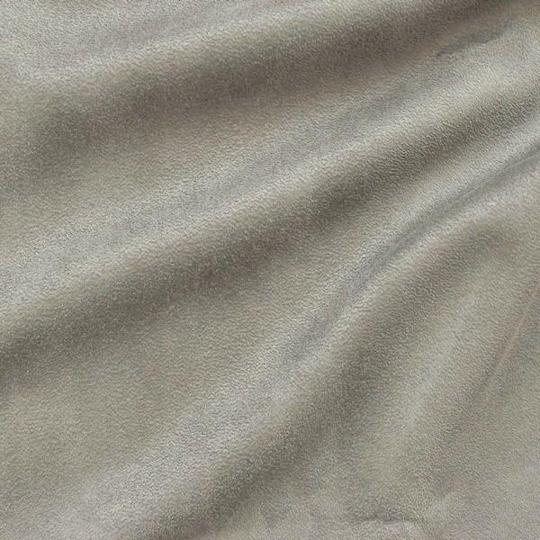 Microfaser Polster- Möbelstoff Artikel Eduro Farbe Mittel-Grau