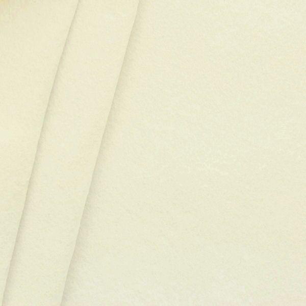 Bastel Filz Stärke 3,0mm Breite 90cm Farbe Creme-Weiss