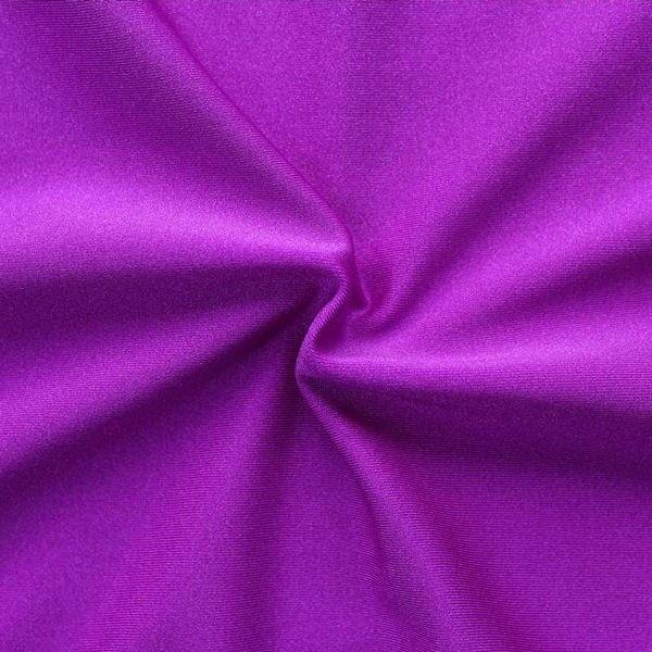 Bi-Stretch Jersey Badeanzug Stoff Farbe Violett