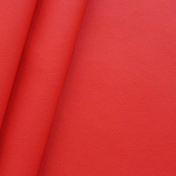 "Polster PU Kunstleder ""Super Soft"" Artikel Lotos Farbe Rot"