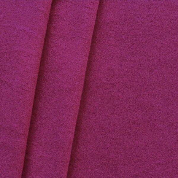 "Mantel Wollstoff ""Klassik"" Farbe Purpur-Violett"