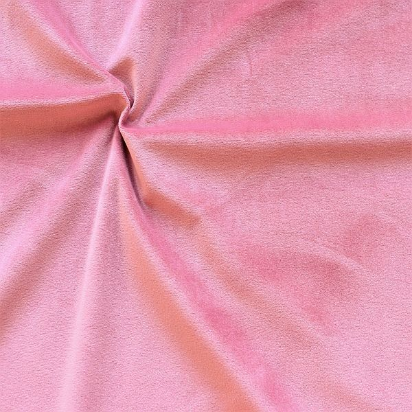 Microfaser Samt Stoff Velvet Touch Rose