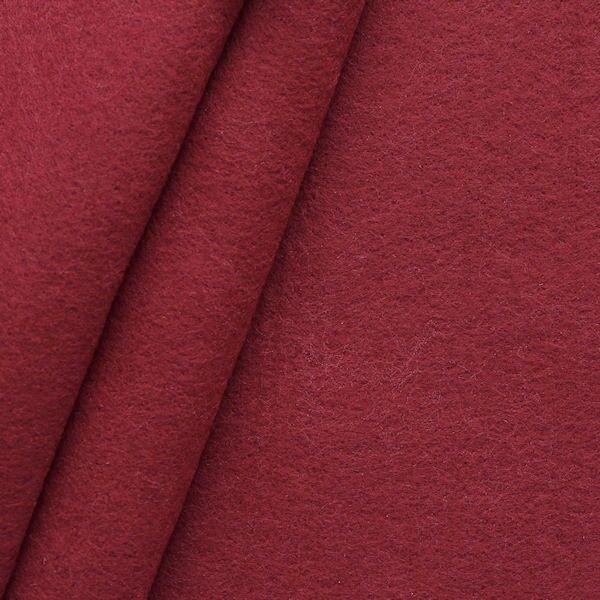 Bastel Filz Stärke 3,0 mm Breite 90 cm Farbe Weinrot