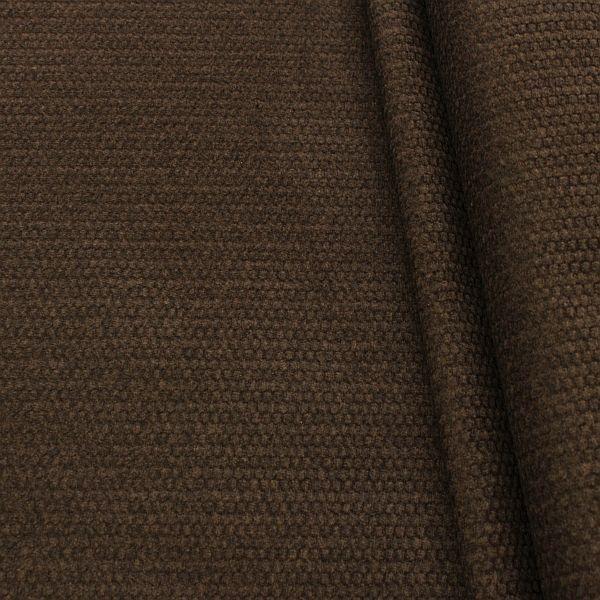 Polsterstoff Möbelstoff Velours Dunkel-Braun