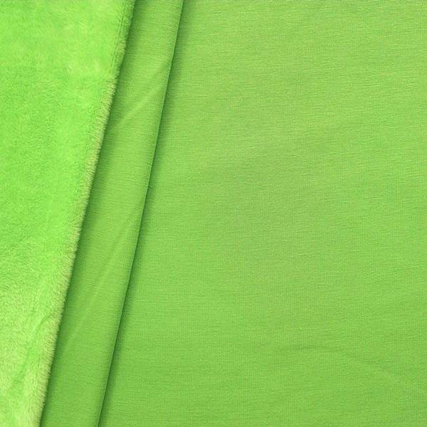 Alpenfleece Sweatshirt 2 Farbe Lind-Grün