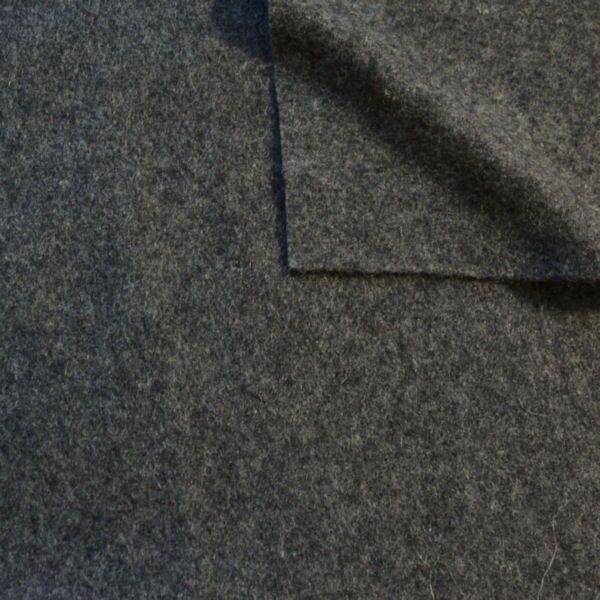Wollfilz Farbe Mittel-Grau meliert