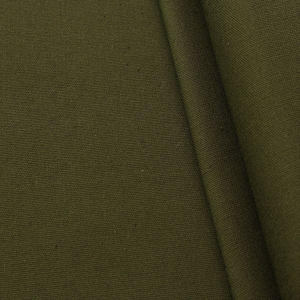 Baumwolle Canvas Khaki-Oliv