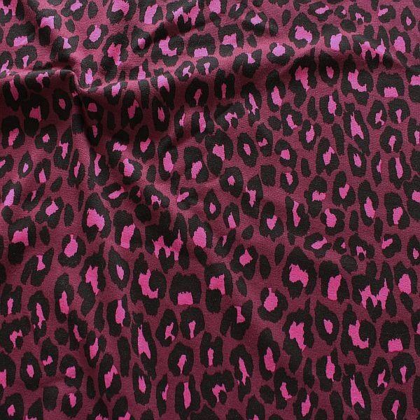 Alpenfleece Sweatshirt Raubtier Fuchsia