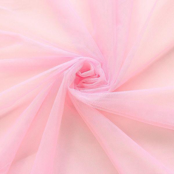 Rosafarbener Softtüll zum Basteln und Nähen