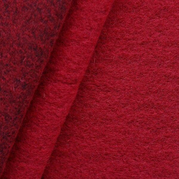 Wollmix Walkstoff Rot