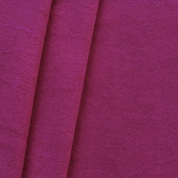 Mantel Wollstoff Klassik Purpur-Violett