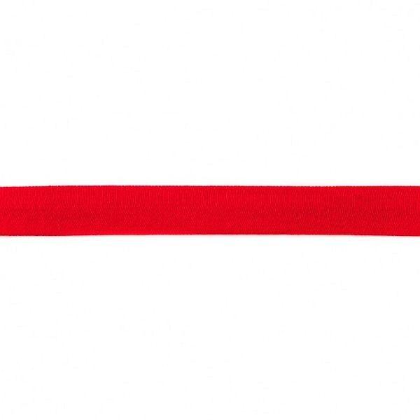 Baumwolljersey Schrägband Breite 20mm Farbe Rot