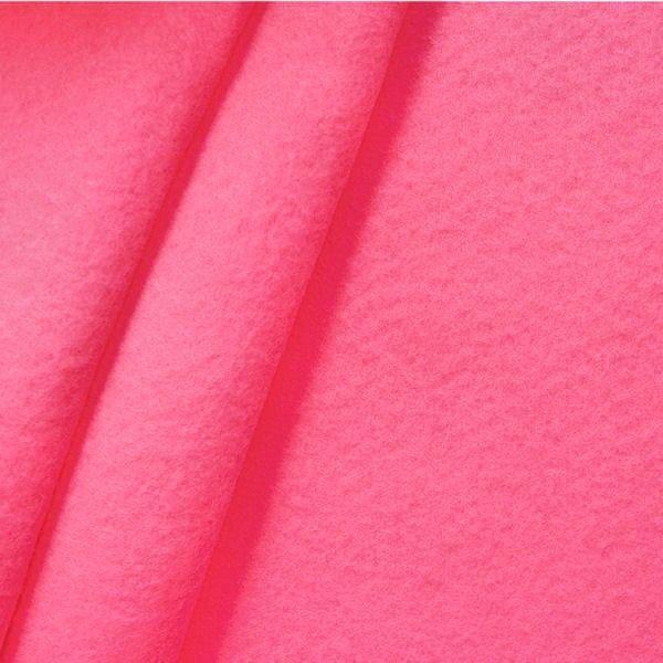 Bastel Filz Stärke 3,0 mm Breite 90 cm Farbe Hot-Rosa