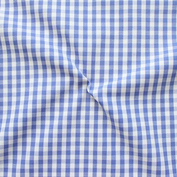 """Baumwollstoff Hemden Qualität Vichy """"Karo mittel"""" Farbe Pink-Weiss"""