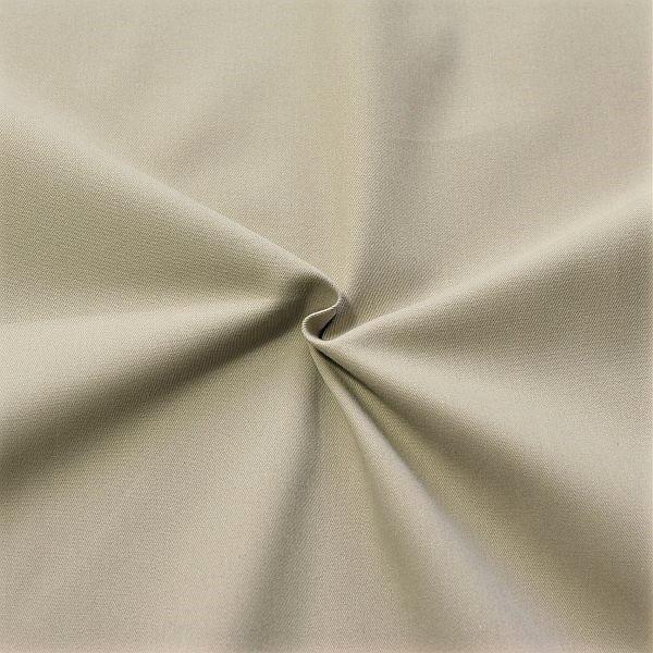 100% Baumwolle Köper Farbe Grau-Beige | Stoffkontor.eu