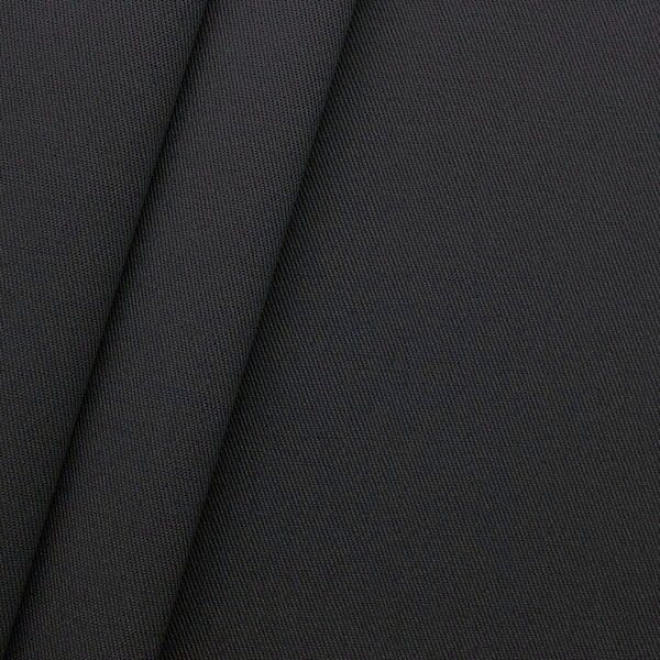 "100% Baumwoll Köper ""Fashion Standard"" Farbe Dunkel-Grau"