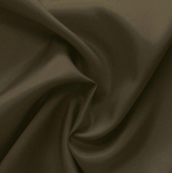 Acetat Taft Futterstoff Farbe Braun-Oliv
