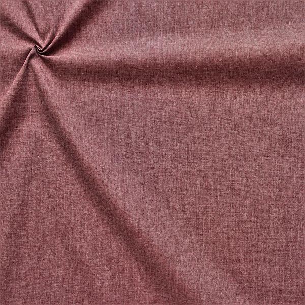 Baumwolle Polyester wie Batist Melange Bordeaux