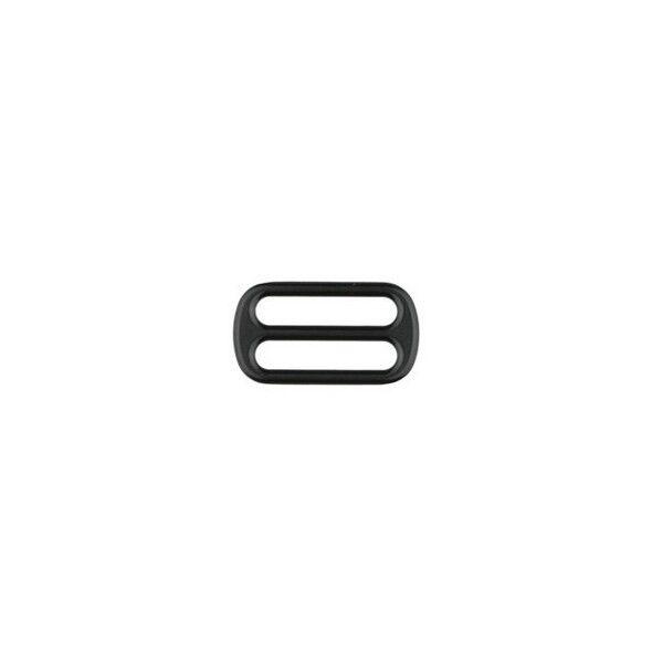 Leiterschnalle  25mm Farbe Schwarz