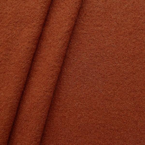 Wolle Walkloden Terrakotta