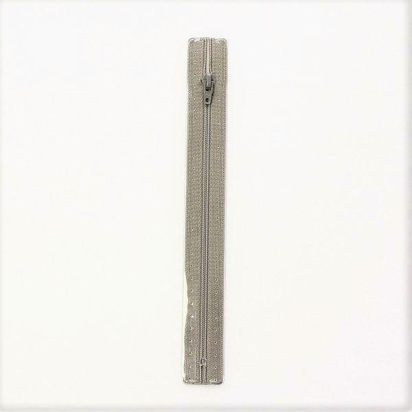 Reißverschluss S1 Typ 18 cm Mittel-Grau