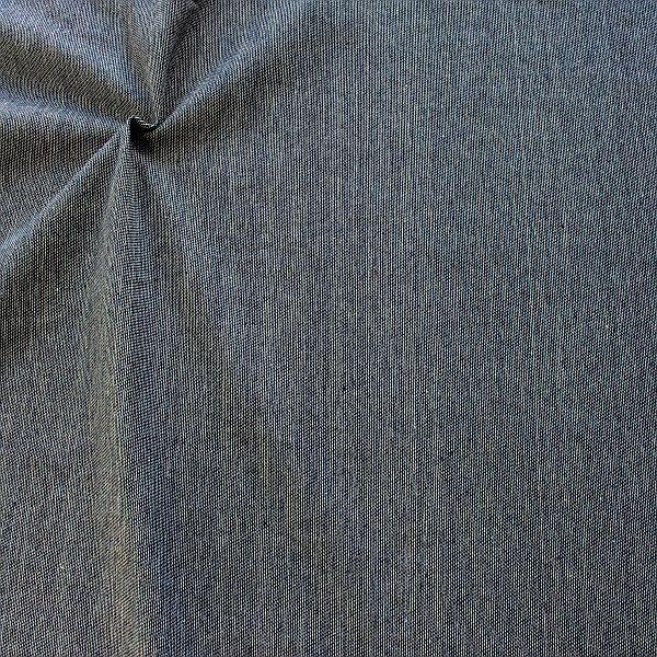 Baumwollstoff Canvas Jeans Look Indigo-Blau