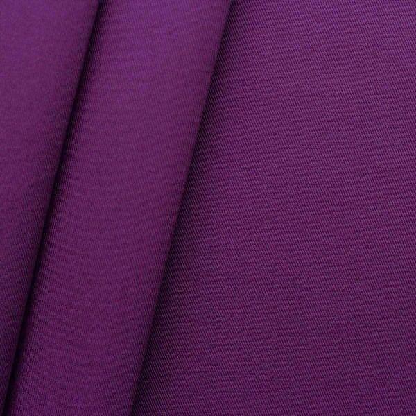"""100% Baumwoll Köper """"Fashion Standard"""" Farbe Lila-Violett"""
