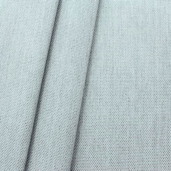 Indoor- Outdoorstoff Panama Bindung Hell-Grau meliert
