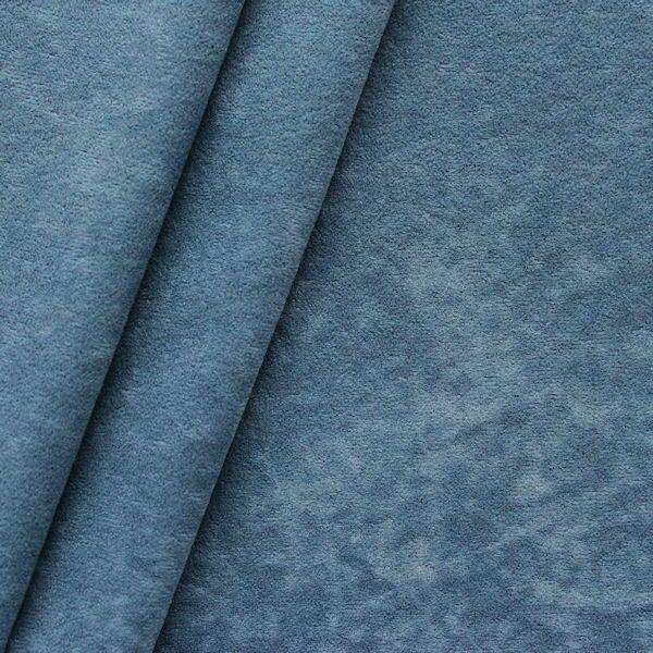 Microfaser Bekleidungsstoff Möbelstoff Blau-Grau