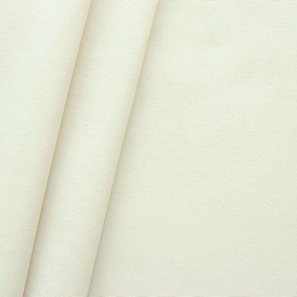 Dekostoff beschichtet Creme-Weiss