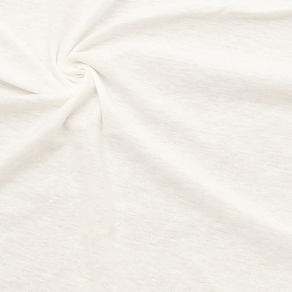 Baumwolle Jersey Ecru