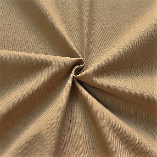 Polyester-Baumwoll Köper Basic Workwear Khaki