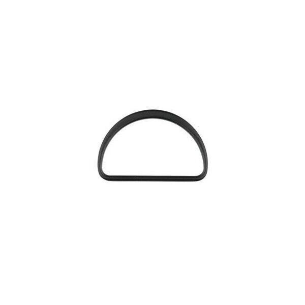 D-Ring 40mm Farbe Schwarz